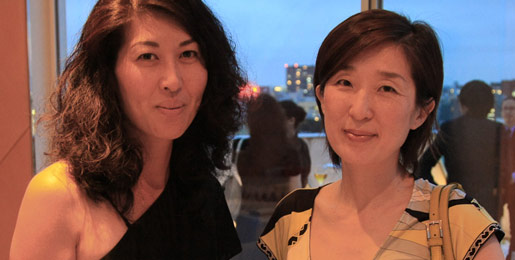 Yoriko Takuma and Misa Shin