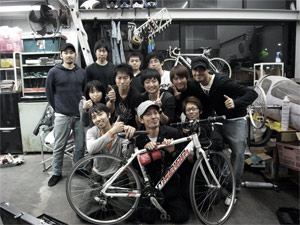 Bikes for Japan — the boys